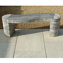 Buy Foras Jasper 130 2-Seat Garden Bench Online at johnlewis.com