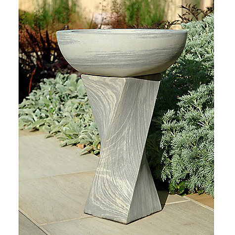 Buy Foras Shark Twist Birdbath Online at johnlewis.com