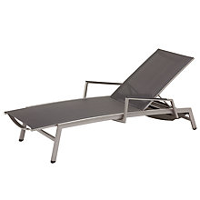 Buy Gloster Azore Stacking Sunlounger Online at johnlewis.com