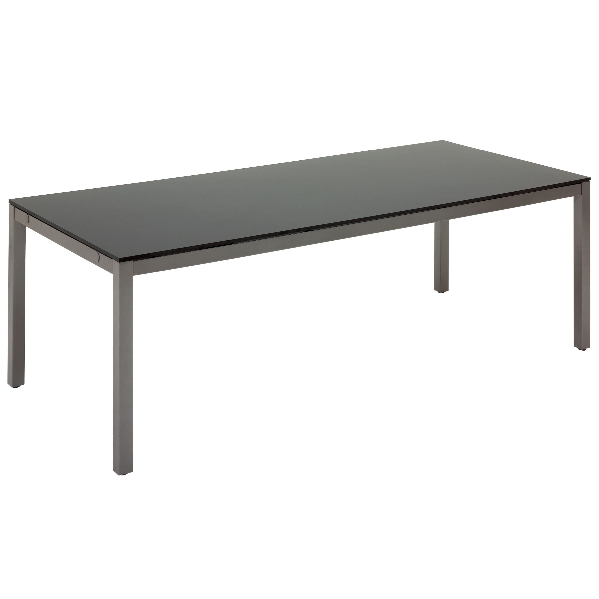 Gloster Azore Rectangular 8 Seater Outdoor Dining Table, Tungsten/HPL