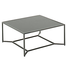 Buy Gloster Bloc High Square Outdoor Coffee Tables, 90 x 90cm Online at johnlewis.com