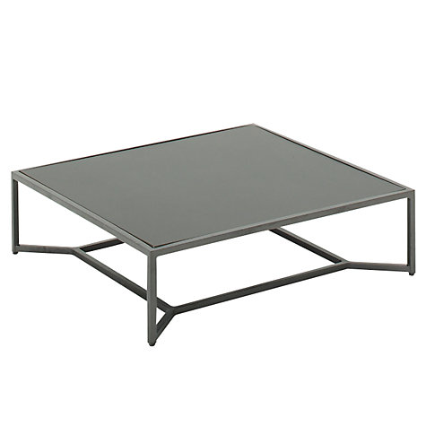 Buy Gloster Bloc Low Square Outdoor Coffee Table Online at johnlewis.com