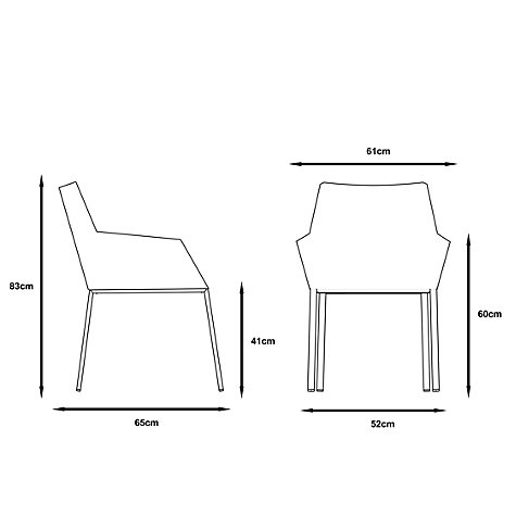 Buy Gloster Cloud Outdoor Dining Chair with Arms Online at johnlewis.com