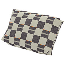 Buy Gloster Cloud Scatter Cushion, Black / Cream, Large Online at johnlewis.com