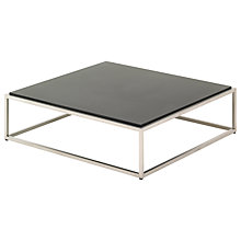 Buy Gloster Cloud Square Outdoor Coffee Table with Quartz Top Online at johnlewis.com