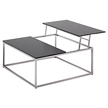 Buy Gloster Cloud Dual Height Outdoor Coffee Tables, HPL Top, 100 x 100cm Online at johnlewis.com
