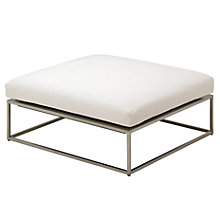 Buy Gloster Cloud 100 x 100 Outdoor Ottoman Online at johnlewis.com