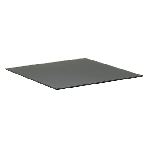 Buy Gloster Cloud Dual Height Coffee Table, HPL Base Shelf, 100 x 100cm Online at johnlewis.com