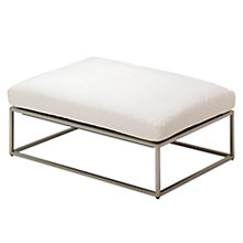 Buy Gloster Cloud 75 x 100 Outdoor Ottoman Online at johnlewis.com
