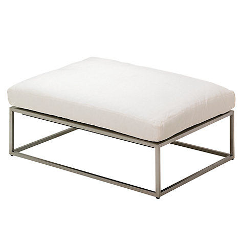 Buy Gloster Cloud 75 x 100 Outdoor Ottomans Online at johnlewis.com