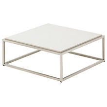 Buy Gloster Cloud Coffee Tables, Quartz Top, 75 x 75cm Online at johnlewis.com
