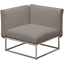 Buy Gloster Cloud 75 x 75 Outdoor Corner Unit Online at johnlewis.com