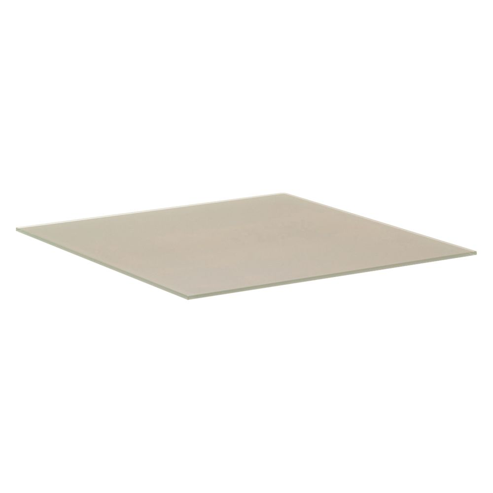 Gloster Cloud HPL Base Shelf for Dual Height Coffee Table, 75 x 75cm, Taupe