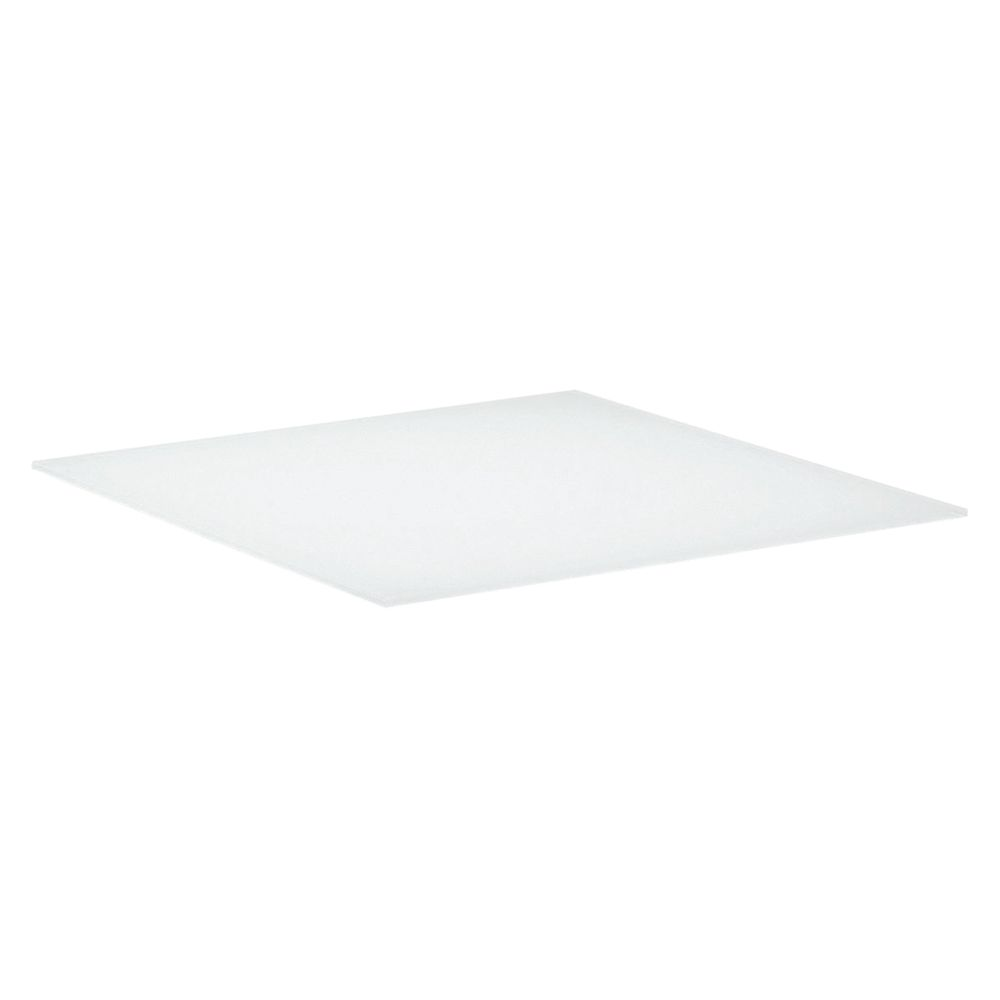 Gloster Cloud HPL Base Shelf for Dual Height Coffee Table, 75 x 75cm, Ivory