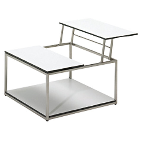 Buy Gloster Cloud HPL Base Shelf for Dual Height Coffee Table, 75 x 75cm Online at johnlewis.com