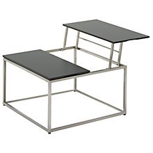 Buy Gloster Cloud Outdoor Dual Height Coffee Tables, HPL Top, 75 x 75cm Online at johnlewis.com