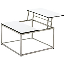 Buy Gloster Cloud Outdoor Dual Height Coffee Table with HPL Top Online at johnlewis.com