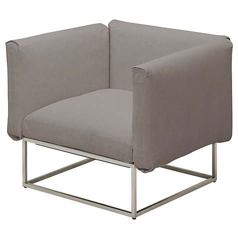 Buy Gloster Cloud 75 x 75 Outdoor Lounge Chair with Arms Online at johnlewis.com