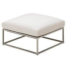 Buy Gloster Cloud 75 x 75 Outdoor Ottoman Online at johnlewis.com