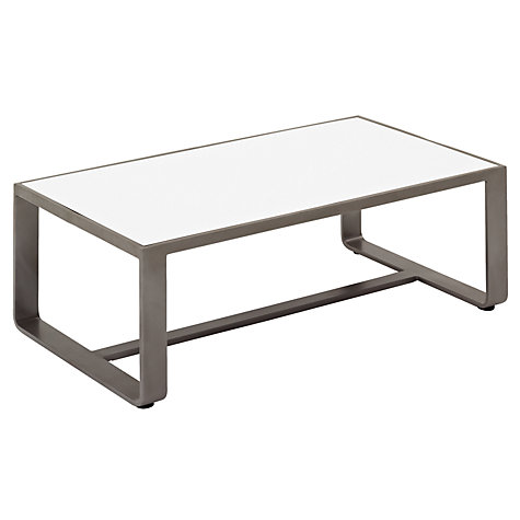 Buy Gloster Club Rectangular Outdoor Coffee Table Online at johnlewis.com