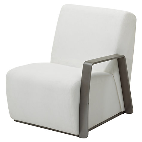 Buy Gloster Club Outdoor Right End Unit, Tungsten / Ivory Online at johnlewis.com
