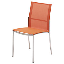 Buy Gloster Fusion Stacking Outdoor Sling Chairs Online at johnlewis.com