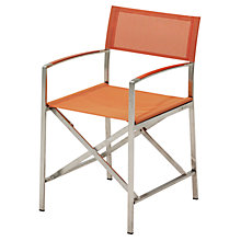 Buy Gloster Fusion Folding Outdoor Sling Chairs with Arms Online at johnlewis.com