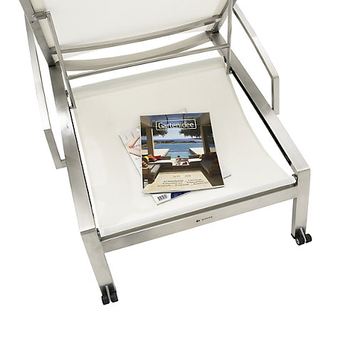Buy Gloster Fusion Stacking Lounger Sling Shelf Online at johnlewis.com