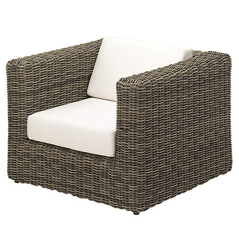 Buy Gloster Havana Modular Outdoor Lounge Chair with Waterproof Cushions, Willow Online at johnlewis.com