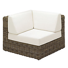 Buy Gloster Havana Modular Outdoor Left Corner Unit, Willow Online at johnlewis.com