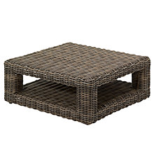 Buy Gloster Havana Modular Square Outdoor Coffee Table, Synthetic Wicker, 97 x 97cm Online at johnlewis.com