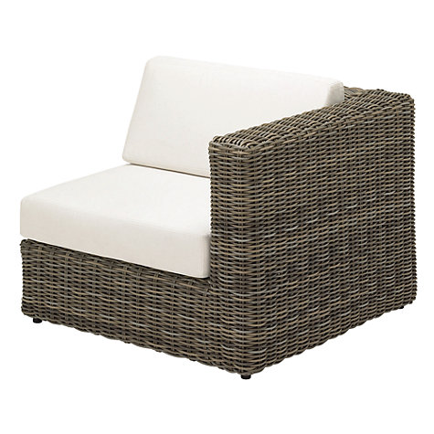 Buy Gloster Havana Modular Outdoor Right End Unit with Waterproof Cushions Online at johnlewis.com