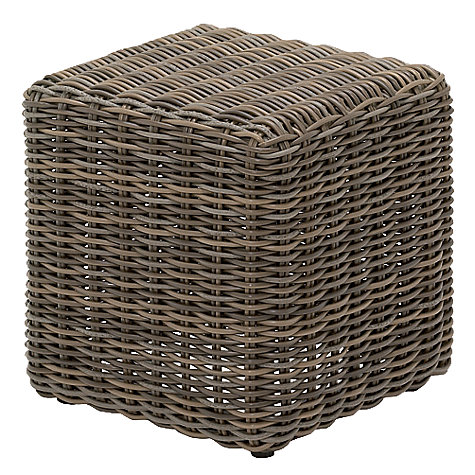Buy Gloster Havana Modular Square Outdoor Side Table, Synthetic Wicker, 45 x 45cm Online at johnlewis.com