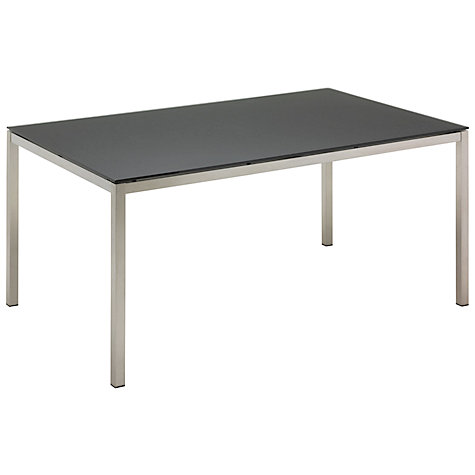Buy Gloster Kore Rectangular 6 Seater Dining Table with Glass Online at johnlewis.com