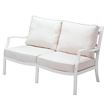 Buy Gloster Roma Deep Seating 2 Seat Outdoor Sofa Online at johnlewis.com