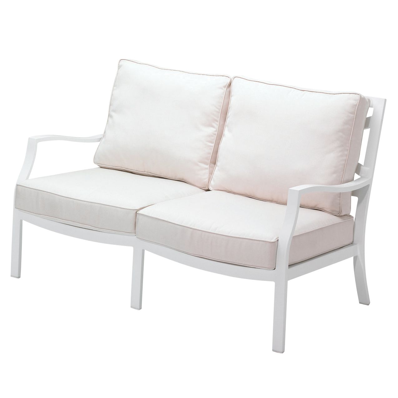 Gloster Roma Deep Seating 2 Seat Outdoor Sofa
