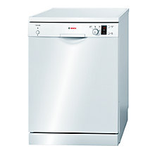 Buy Bosch SMS40C02GB Dishwasher, White Online at johnlewis.com