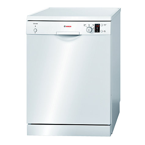 Buy Bosch SMS40C02GB Freestanding Dishwasher, White Online at johnlewis.com