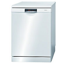Buy Bosch SMS69L22GB Dishwasher, White Online at johnlewis.com
