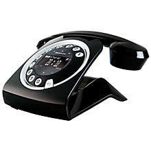 Buy Sagemcom Sixty Cordless Telephone and Answer Machine, Black Online at johnlewis.com