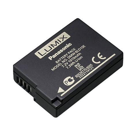 Buy Panasonic DMW-BLD10E Rechargeable Digital Camera Battery Online at johnlewis.com