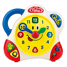 Buy John Lewis Learning Clock Online at johnlewis.com