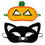 Buy John Lewis Halloween Cat & Pumpkin Halloween Masks, Assorted Online at johnlewis.com
