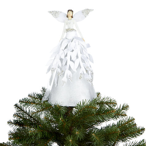 Buy John Lewis Glitter Fairy Tree Topper Online at johnlewis.com