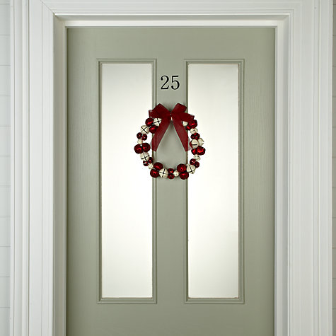 Buy John Lewis Indoor Christmas Bell Wreath Online at johnlewis.com