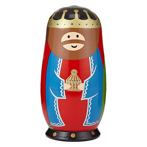 Buy John Lewis Nativity Scene Russian Dolls John Lewis