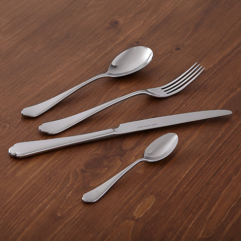 Buy Raphia Mirror Finish Dessert Fork Online at johnlewis.com