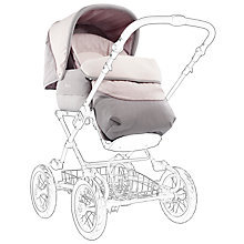 Buy Silver Cross Sleepover Deluxe Pram Body, Sugared Almond Online at johnlewis.com