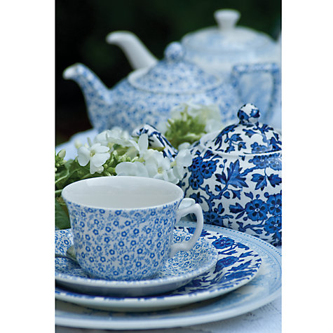 Buy Burleigh Felicity Cereal Bowl, Blue Online at johnlewis.com
