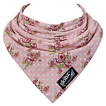 Buy Skibz Vintage Rose Print Bib, Pink Online at johnlewis.com